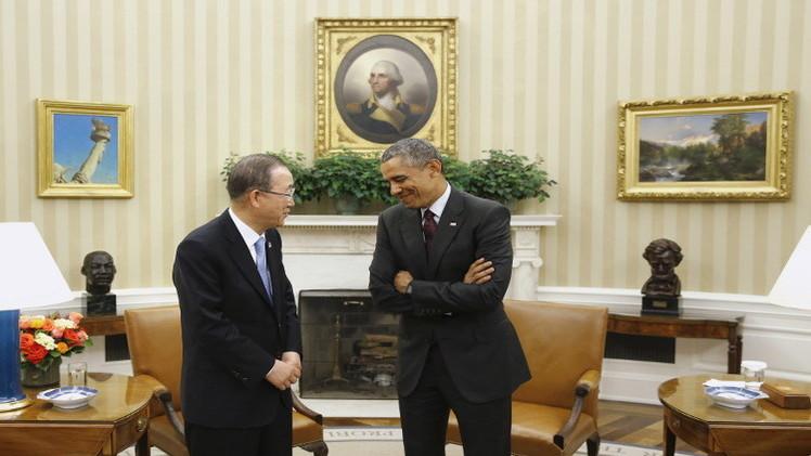 أوباما: هناك تقدم طفيف في تسوية الوضع في ليبيا