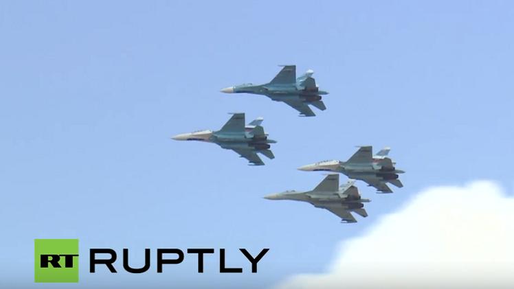مسابقة الطائرات المقاتلة في بطولة الألعاب العسكرية بروسيا