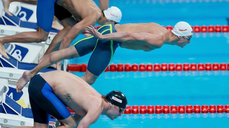 أمريكا تحطم رقما قياسيا روسيا في بطولة العالم للسباحة