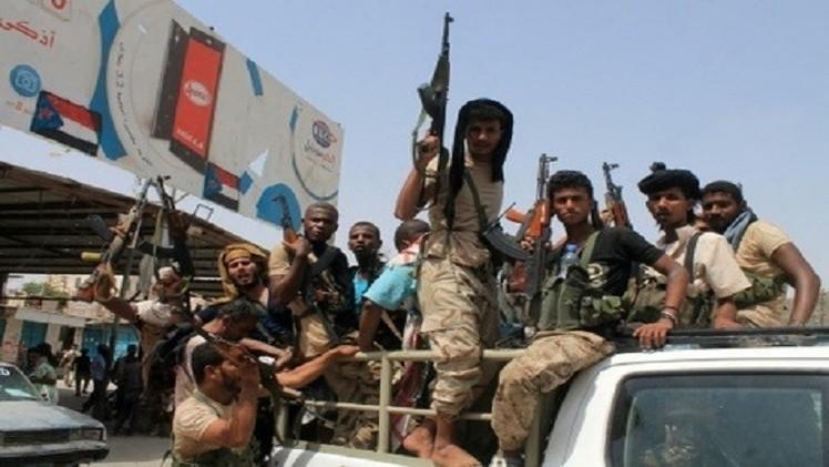 أنصار هادي يتقدمون جنوب اليمن ومطار عدن يستأنف الرحلات المدنية