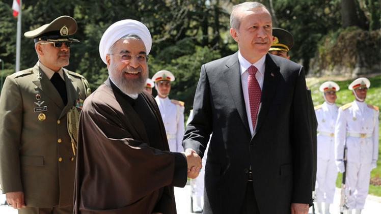 روحاني وأردوغان يبحثان التعاون المشترك في مكافحة الإرهاب