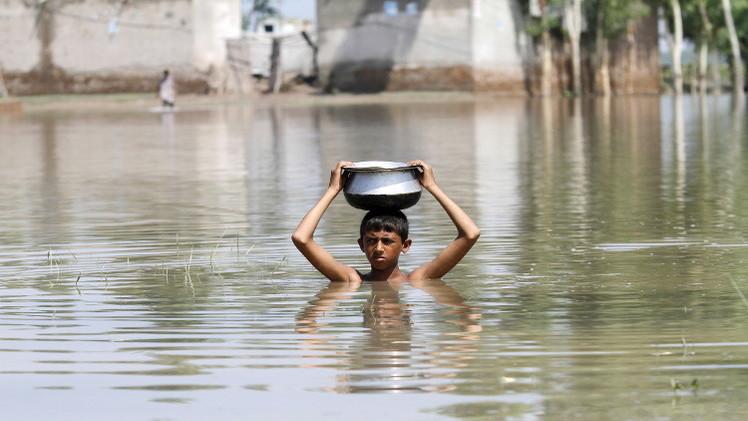 ارتفاع عدد ضحايا فيضانات باكستان إلى 169 قتيلا
