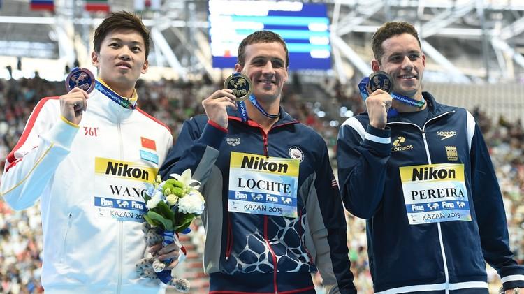 السباح الأمريكي لوكتي يتوج بذهبية 200 م متنوع