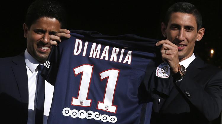 فيديو  .. دي ماريا يرتدي القميص رقم 11 مع باريس سان جيرمان