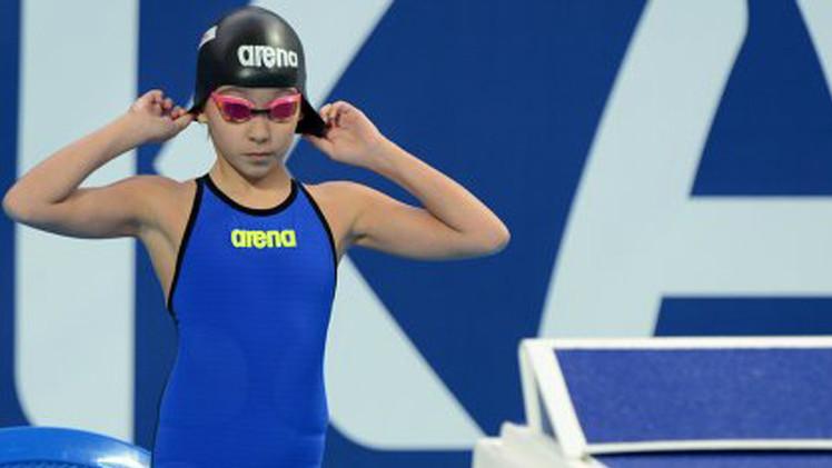 طفلة بحرينية تسجل رقما قياسيا في بطولة العالم للسباحة