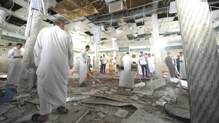نتيجة بحث الصور عن تفجير مسجد في السعودية