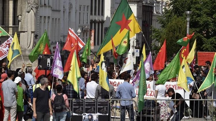 ألمانيا.. آلاف الأكراد يحتجون على الغارات التركية ضد الكردستاني