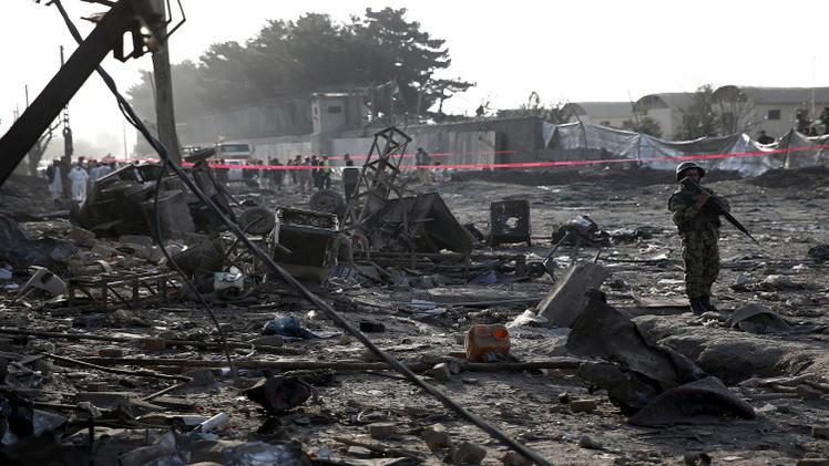 أفغانستان.. مقتل أكثر من 20 شخصا بينهم جندي أمريكي بتفجير شمال البلاد