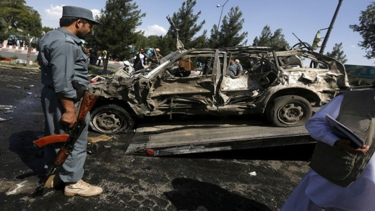 22 قتيلا بانفجار سيارة مفخخة في شمال أفغانستان