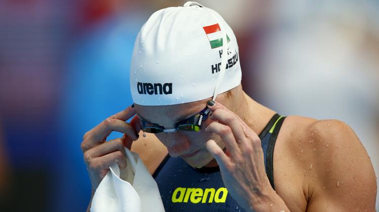 السباحة الهنغارية هوسو تتأهل لنهائيات 400م فردي متنوع في بطولة العالم