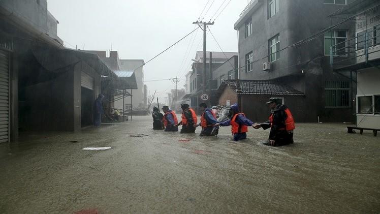الصين.. 8 قتلى حصيلة ضحايا إعصار