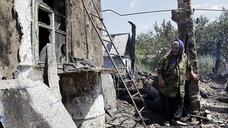 قتلى وجرحى بقصف كثيف للقوات الأوكرانية على دونيتسك