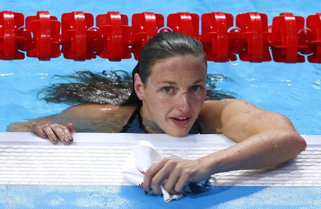 الهنغارية هوسو تتوج بذهبية 400م فردي متنوع في بطولة العالم