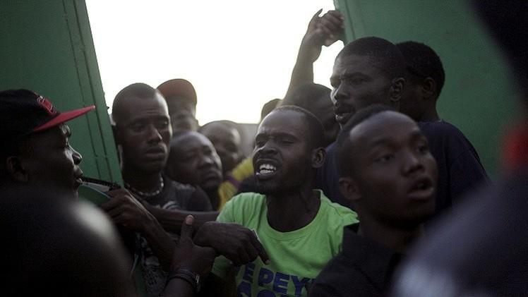أعمال عنف تشوب الانتخابات التشريعية في هايتي