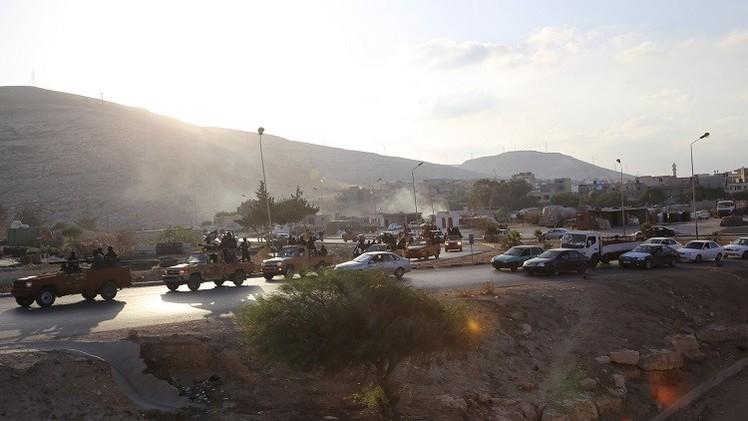 ليبيا.. مقتل 8 أشخاص بتفجير سيارة مفخخة بدرنة