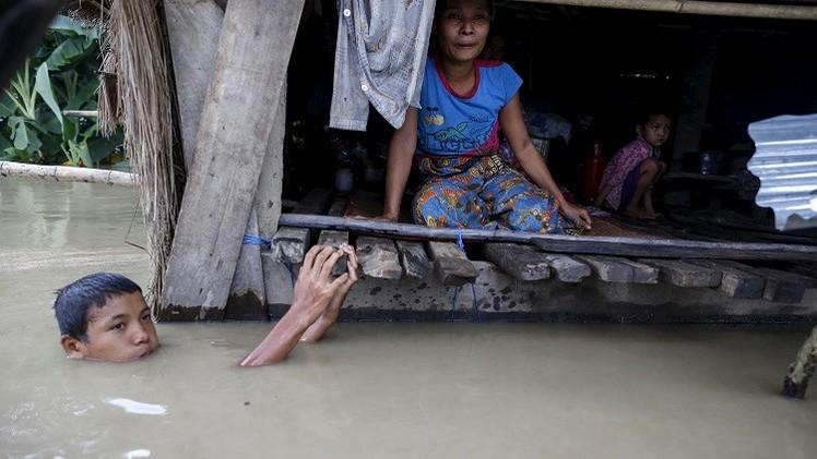 مقتل أكثر من 100 شخص في ميانمار جراء الفيضانات