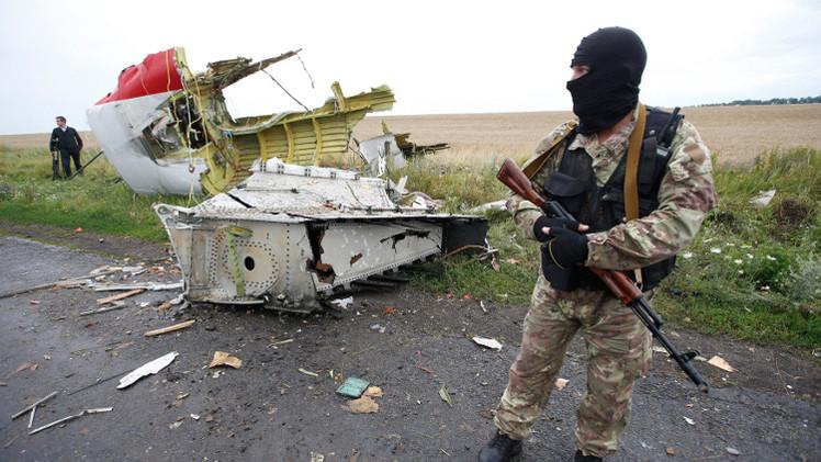 موسكو تدعو كافة الدول المعنية إلى نشر معلومات حول تحطم الطائرة الماليزية بأوكرانيا