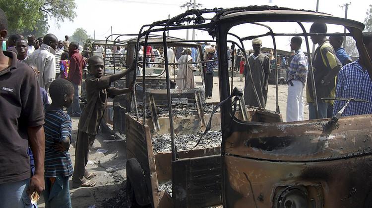 مقتل نحو 50 شخصا في انفجار شمال شرق نيجيريا