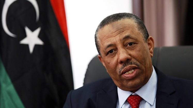 حكومة طبرق تنفي استقالة رئيسها عبد الله الثني