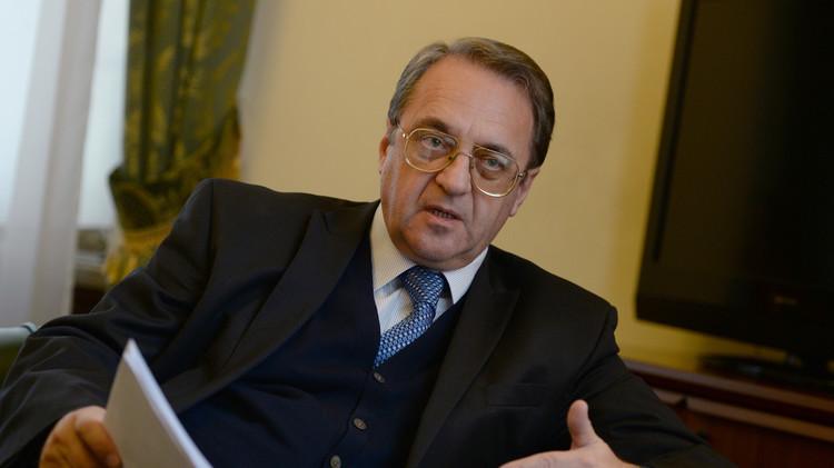 بوغدانوف يبحث مع السفيرين المصري والأردني تطورات الوضع في سوريا