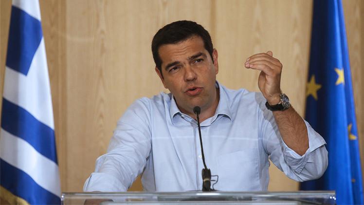الحكومة اليونانية ترفع اتفاق القرض الجديد إلى البرلمان لإقراره