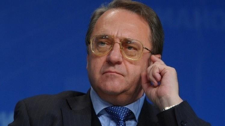 بوغدانوف يبحث مع ممثل المعارضة السورية تشكيل تحالف ضد