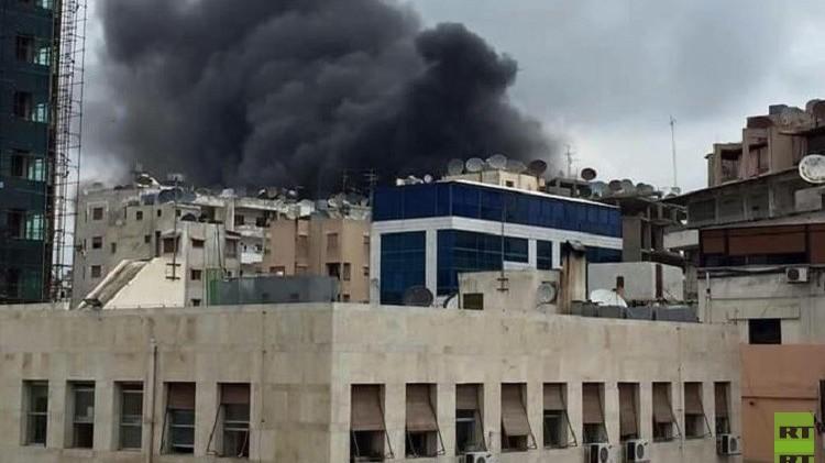 سوريا.. قتيلان و14 جريحا نتيجة سقوط صاروخين في اللاذقية (صور+فيديو)