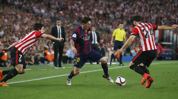 برشلونة يبدأ رحلة