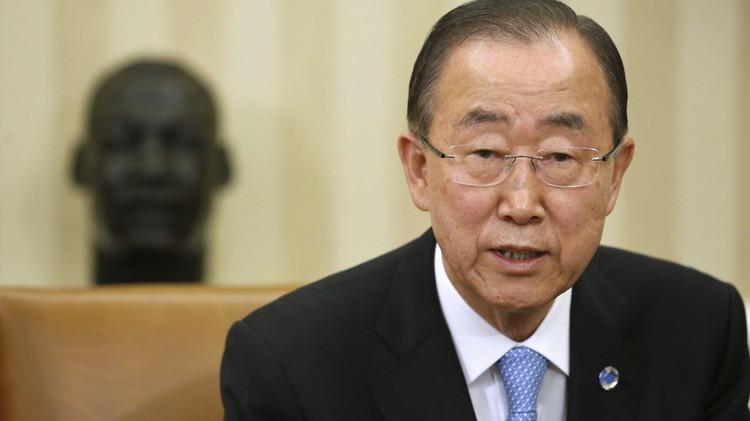 بان كي مون: جرائم جنود حفظ السلام ورم سرطاني يأكل الأمم المتحدة