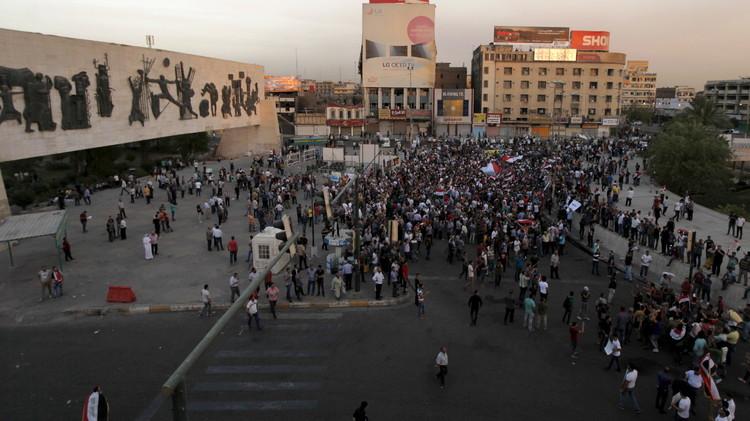 تظاهرات جديدة في العراق والعبادي يدعو إلى استقلال القضاء
