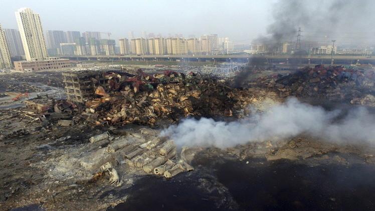 الصين.. 112 قتيلا حصيلة الانفجارات.. ومخاوف من تسرب مواد كيماوية
