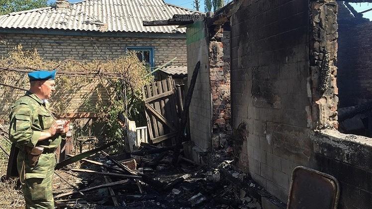 دونباس.. قتيل و9 جرحى في قصف أوكراني كثيف لأراضي