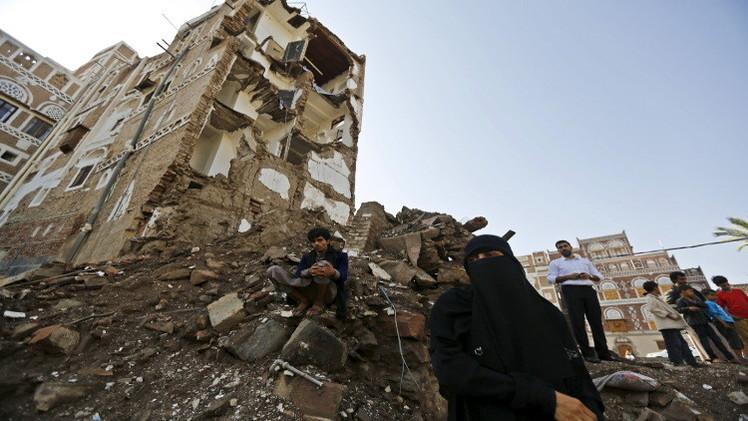 التحالف العربي يجدد غاراته على صنعاء