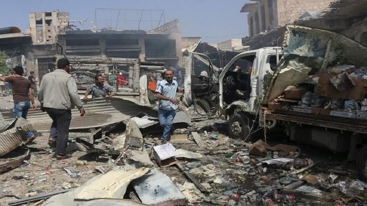 مقتل العشرات في قصف على دوما بريف دمشق والجيش السوري يتقدم في الزبداني