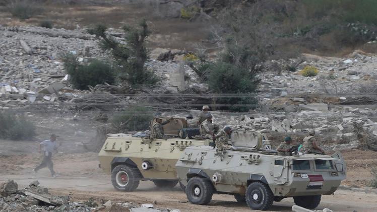 مقتل 6 مسلحين في صد هجوم على نقطة عسكرية في رفح المصرية