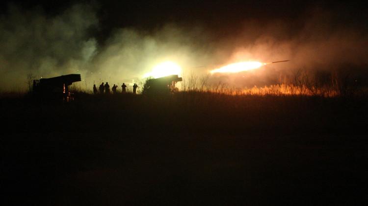 عمليات رماية قتالية مكثفة في تدريبات واسعة النطاق بجنوب روسيا