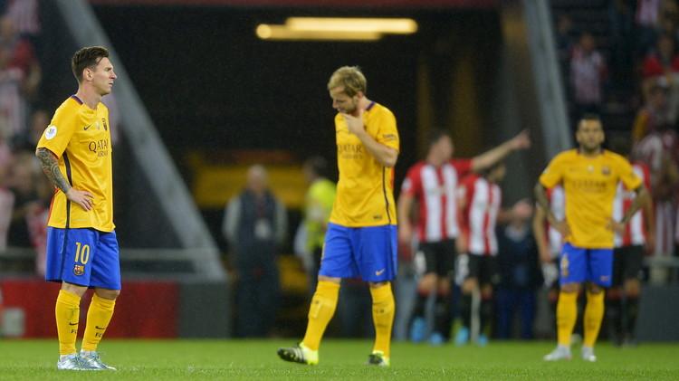 برشلونة يواجه بيلباو بكامل نجومه (فيديو)