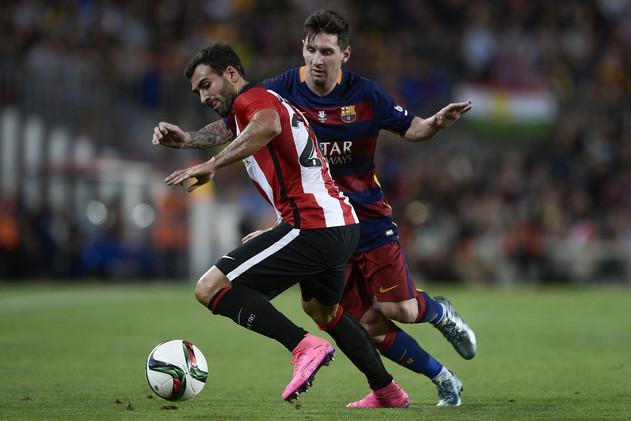 فيديو .. برشلونة يتقدم على بيلباو بهدف ميسي