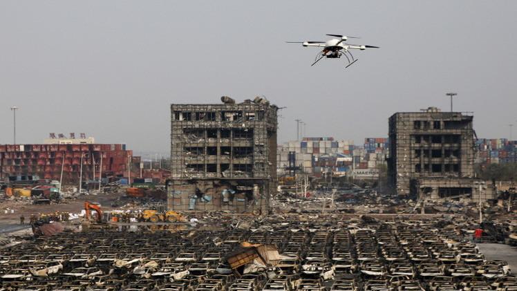 الصين.. توقيف إدارة الشركة المالكة للمخازن المتفجرة