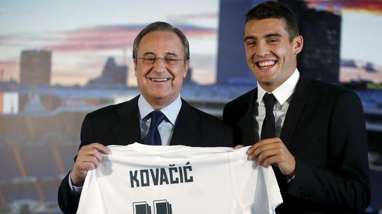 رسميا ..ريال مدريد يقدم لاعبه الجديد كوفاتشيتش (صور)