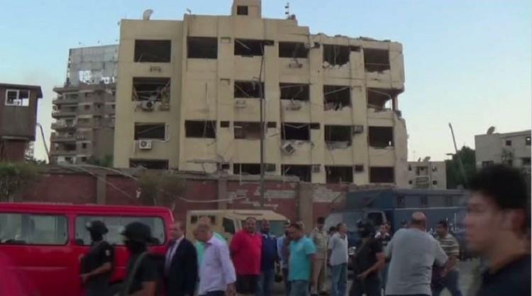 جرحى في انفجارة سيارة مفخخة أمام مبنى الأمن الوطني شمال القاهرة