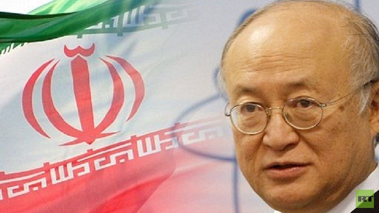 آمانو: الاتفاق المغلق بين إيران والوكالة الدولية للطاقة الذرية لا ينسف نظام ضمانات الأمن
