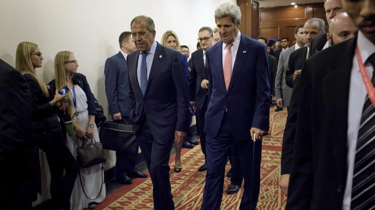 الخارجية الروسية لا تستبعد عقد لقاء بين لافروف وكيري في نيويورك