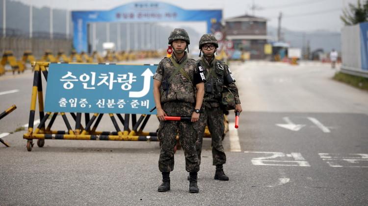 تأزم الأوضاع على الحدود بين الكوريتين يهدد بنشوب حرب