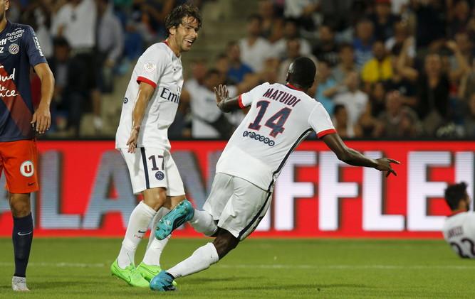 سان جيرمان يقتنص فوزا ثمينا من مونبلييه في الدوري الفرنسي