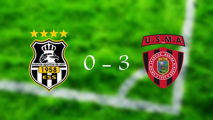 اتحاد الجزائري يحقق فوزا سهلا على وفاق سطيف في دوري الأبطال