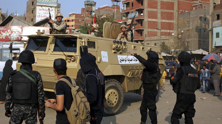 مقتل شرطيين وإصابة 24 بتفجير شمال مصر