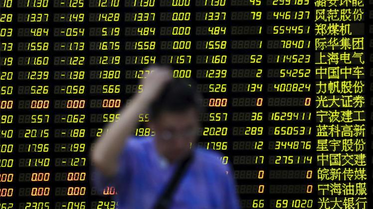 شنغهاي أكبر الخاسرين في يوم أسود للبورصات الآسيوية