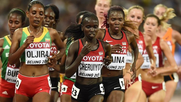 عداءتان من كينيا تسقطان في اختبار للمنشطات في بطولة أم الألعاب