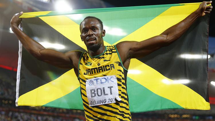 أوسين بولت العظيم يحرز ذهبية سباق 200 متر في أم الألعاب